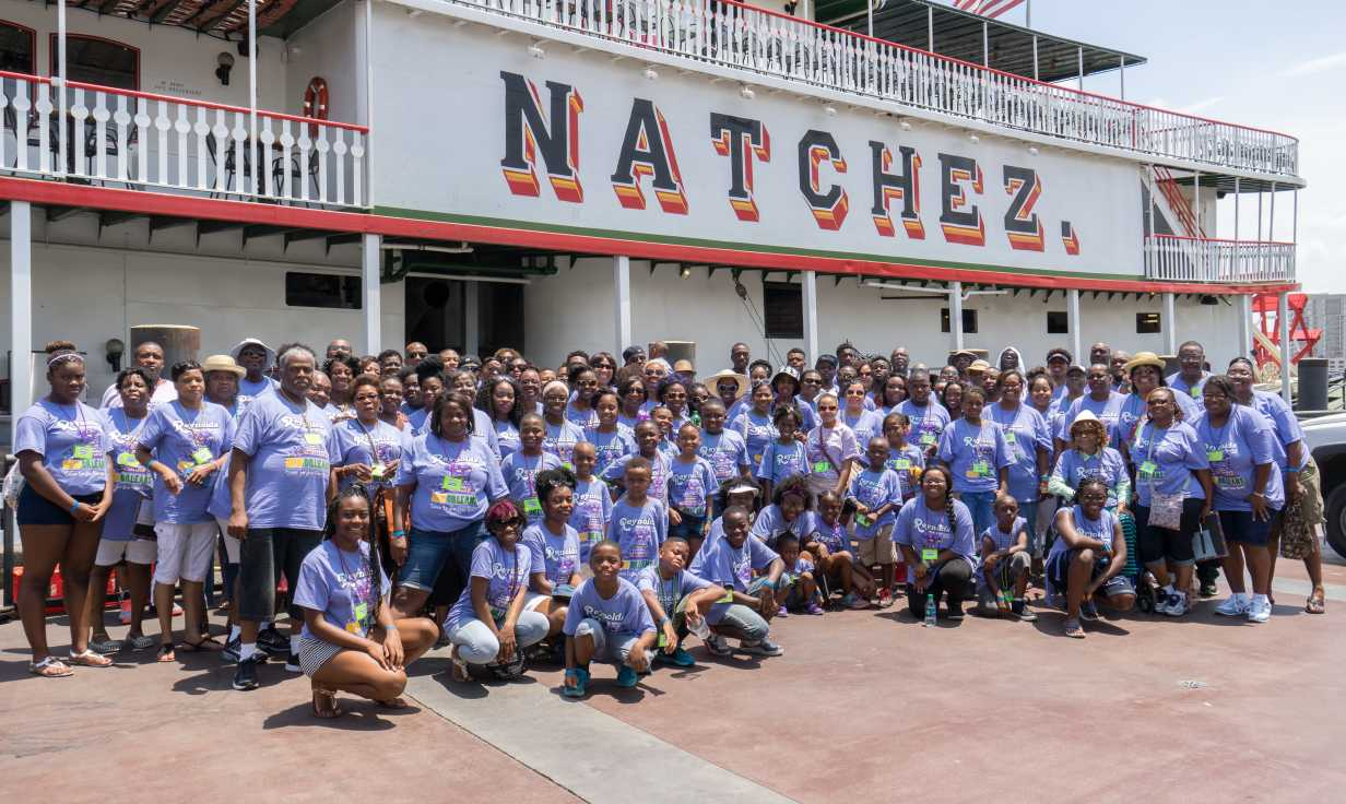 Family Reunion on the Steamboat Natchez