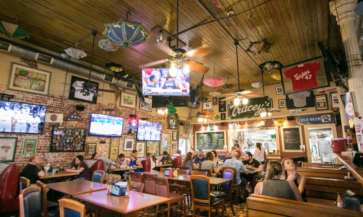 Tracey's Bar- Irish Channel New Orleans