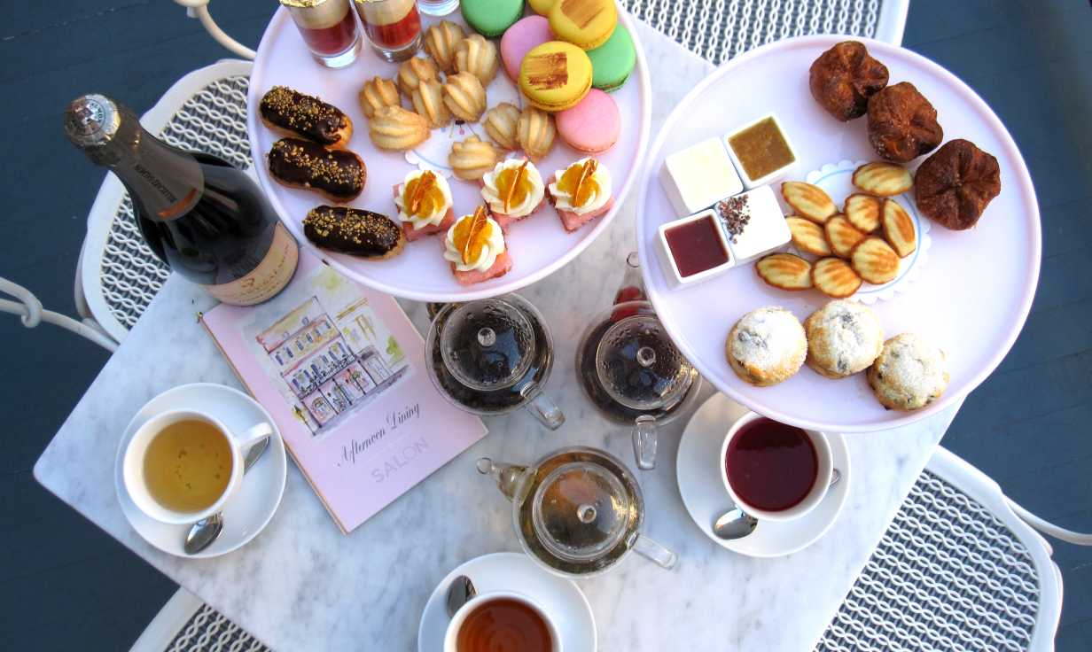 Tea at Salon by Sucre