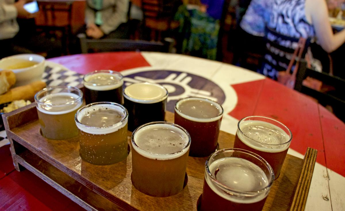 Two Day Itinerary Day Two Dinner River City Brewing Co.