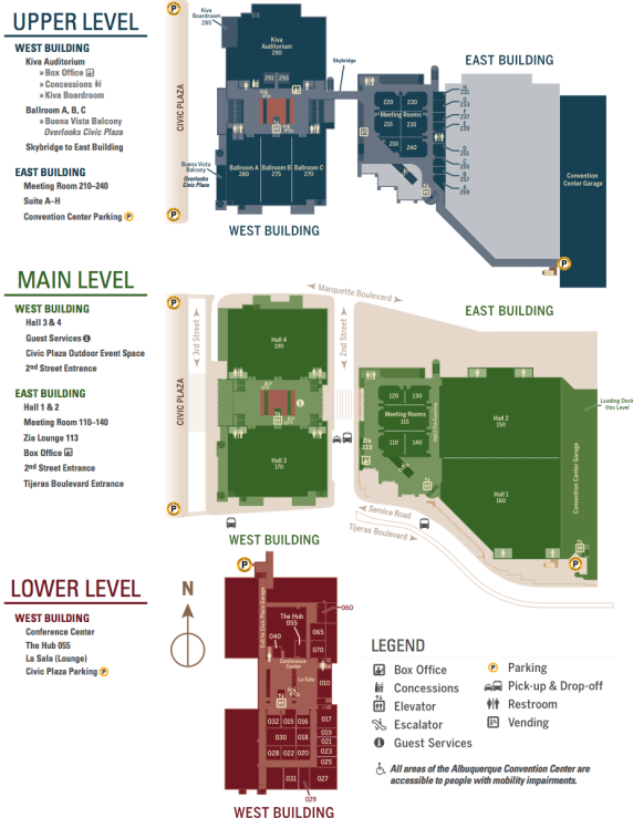 Convention Center Floor Plan