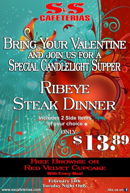 S&S Cafeteria Valentine's Day 2017