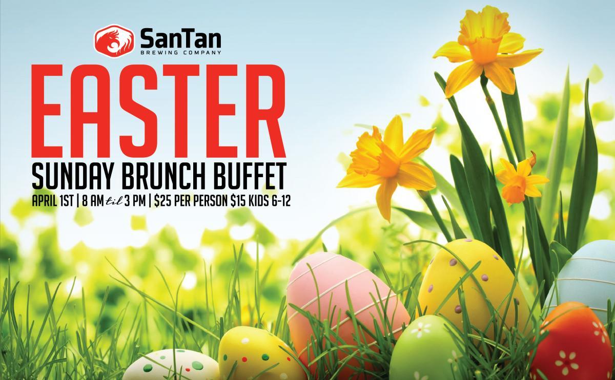 Easter Brunch at SanTan Brewing Co.