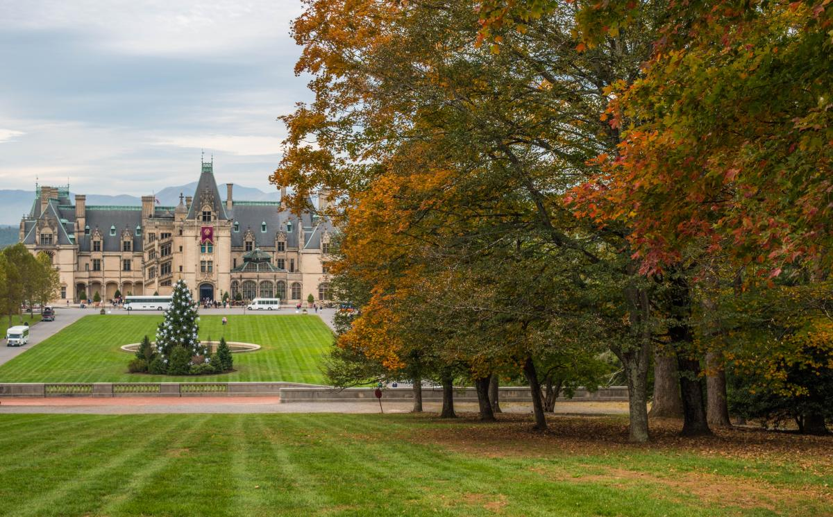 Fall and Holidays at Biltmore Estate