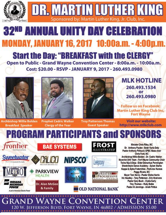 MLK Day Celebration - Fort Wayne