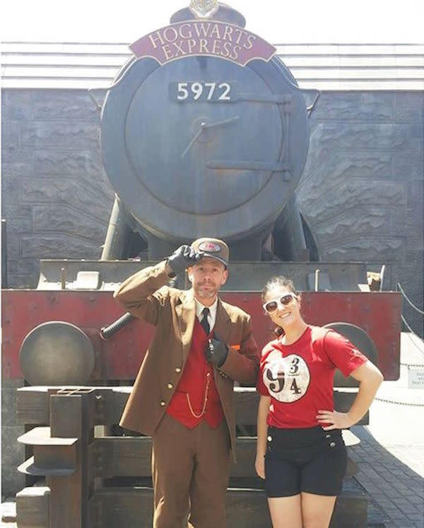 Hogwarts Express with @tizianalastoria