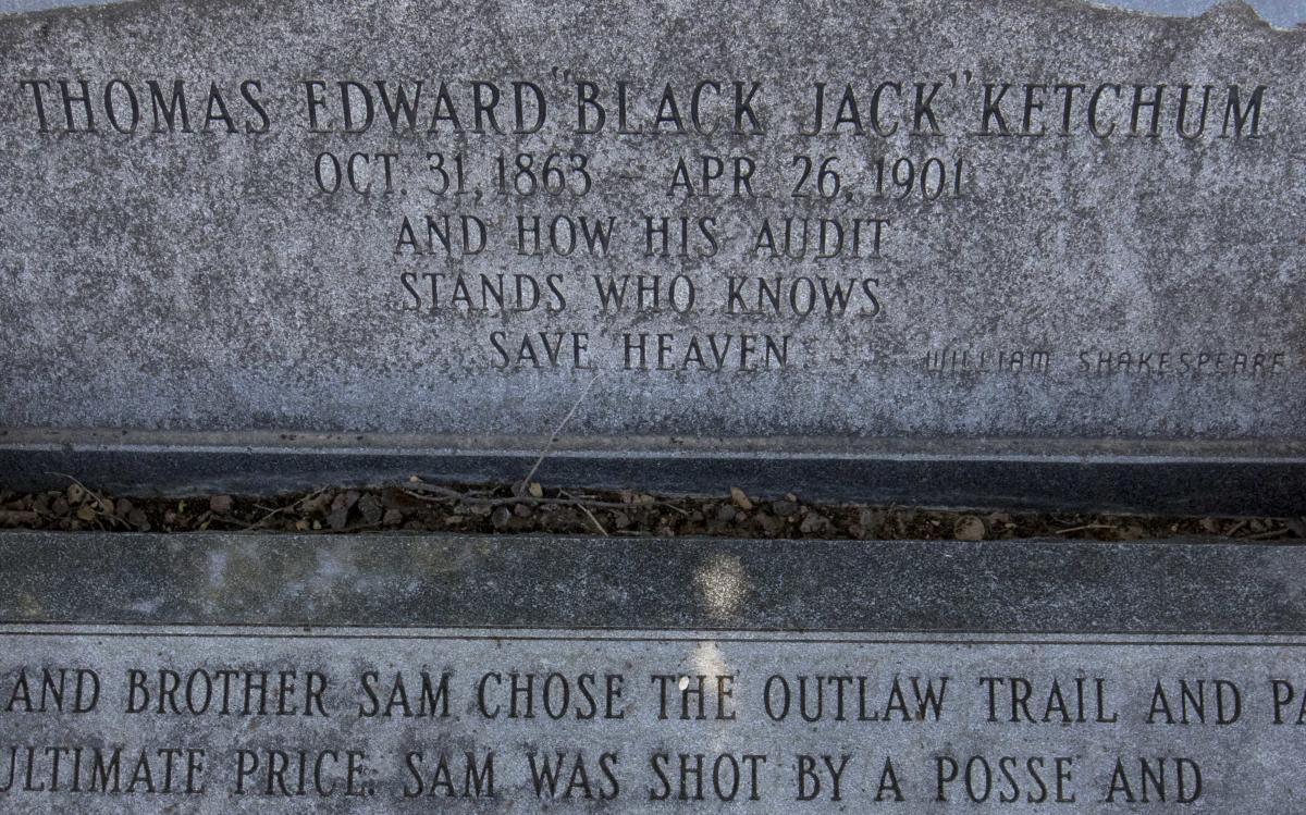 Black Jack Ketchum Headstone