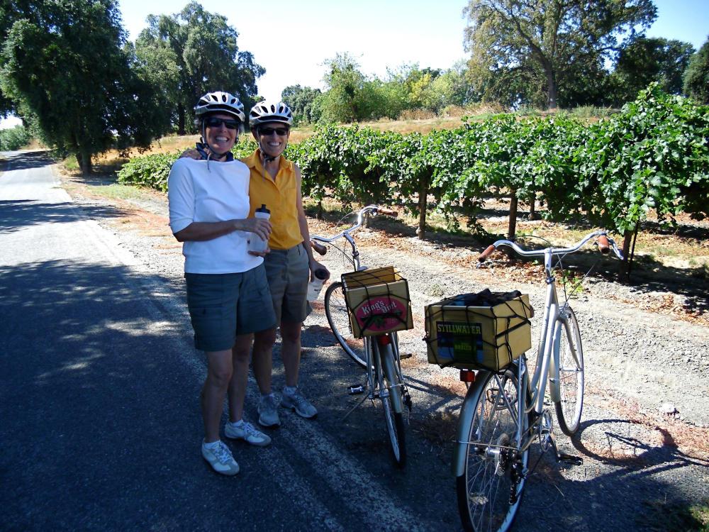 Cycling in Sacramento