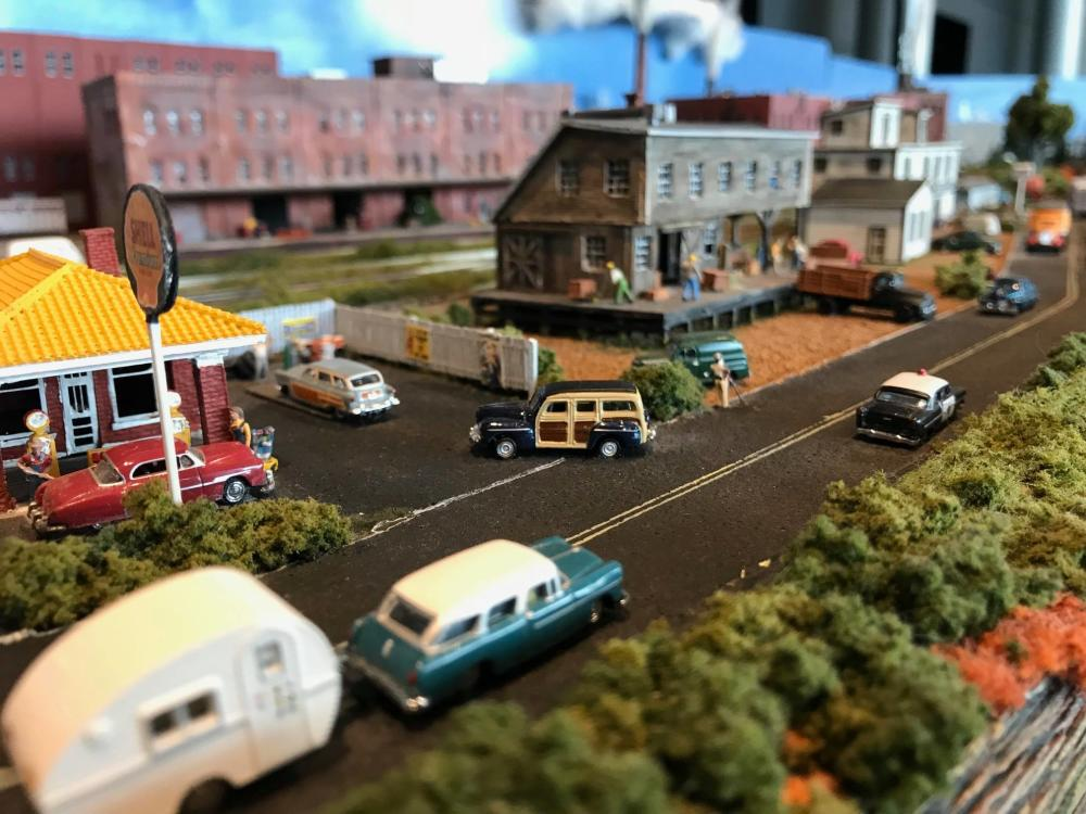 Model Railroad Show at SMV