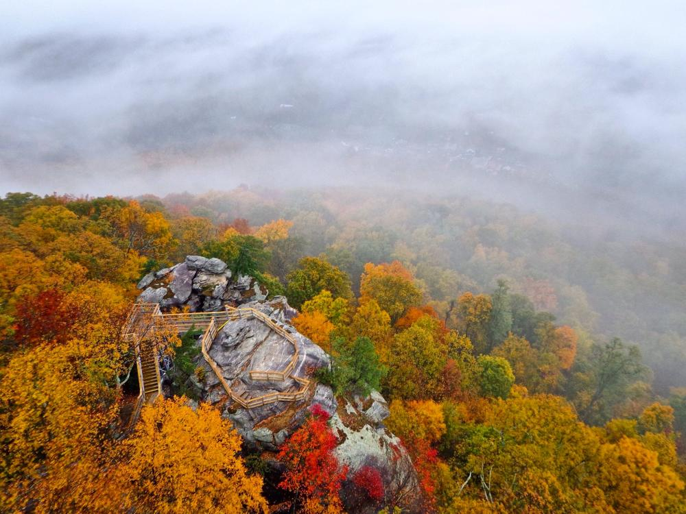 Chimney Rock State Park Fall 2015