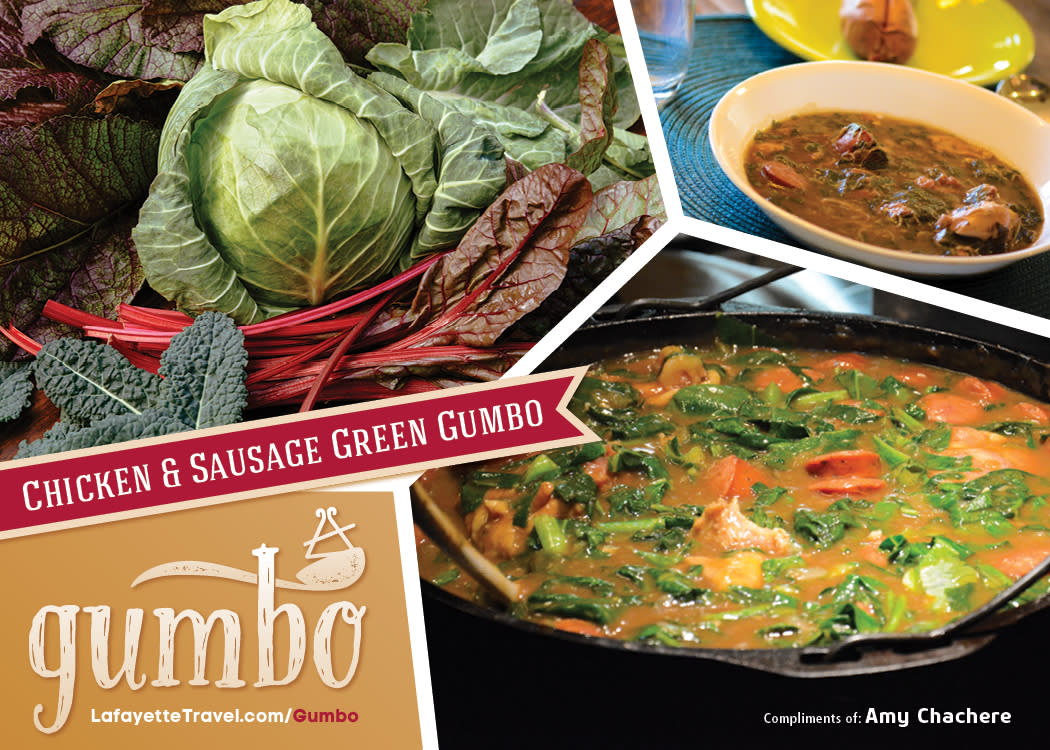 Green Gumbo Recipe Card