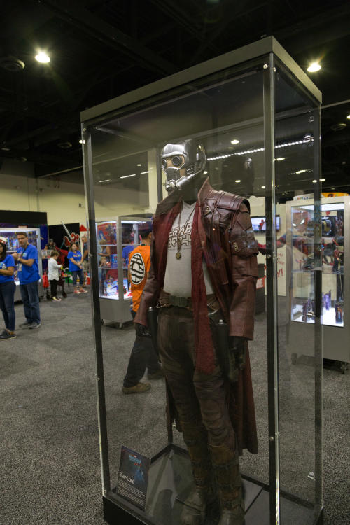 HASCON Star Lord display in case