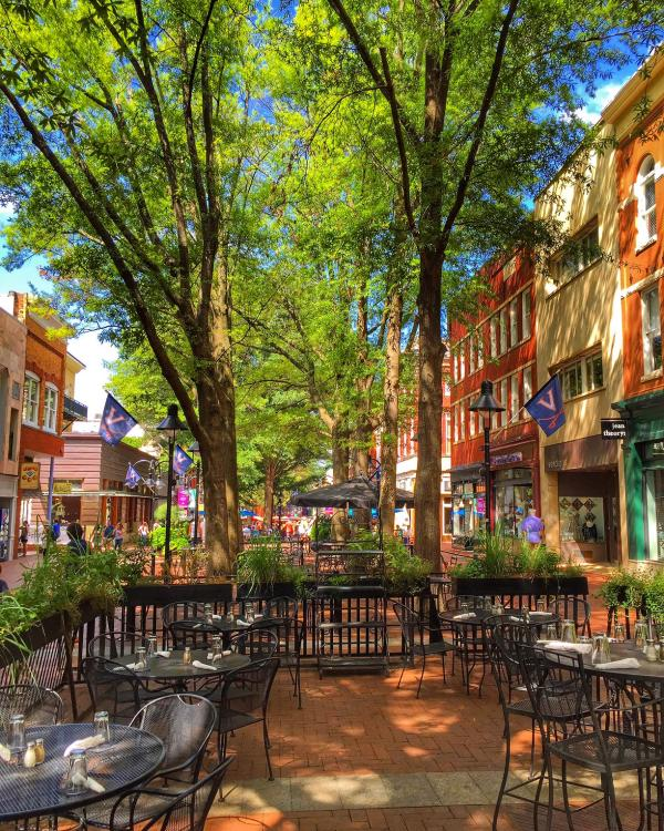 Downtown Mall Summer