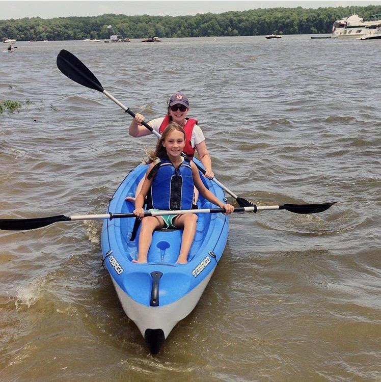 Fort Hampton Outfitters kayak or paddleboard adventure