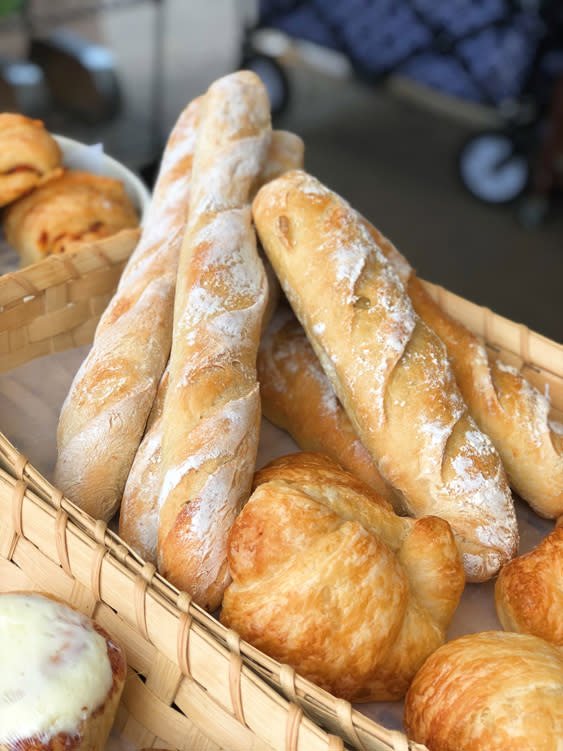 Farmers Market - Fairbanks Alaska - baguettes