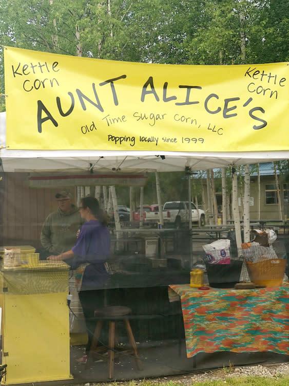 Farmers Markets - Fairbanks Alaska - Kettle Korn