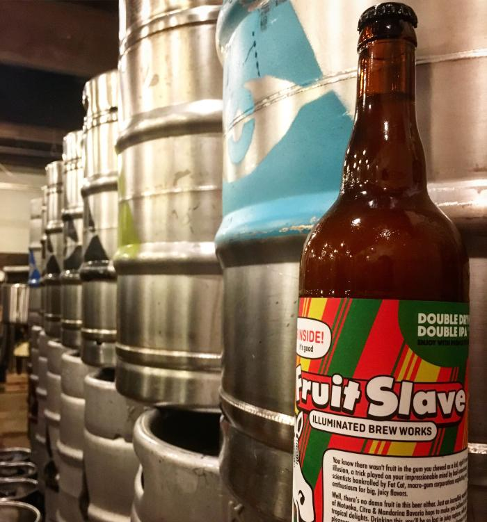 Fruit Slave beer from Illuminated Brew Works