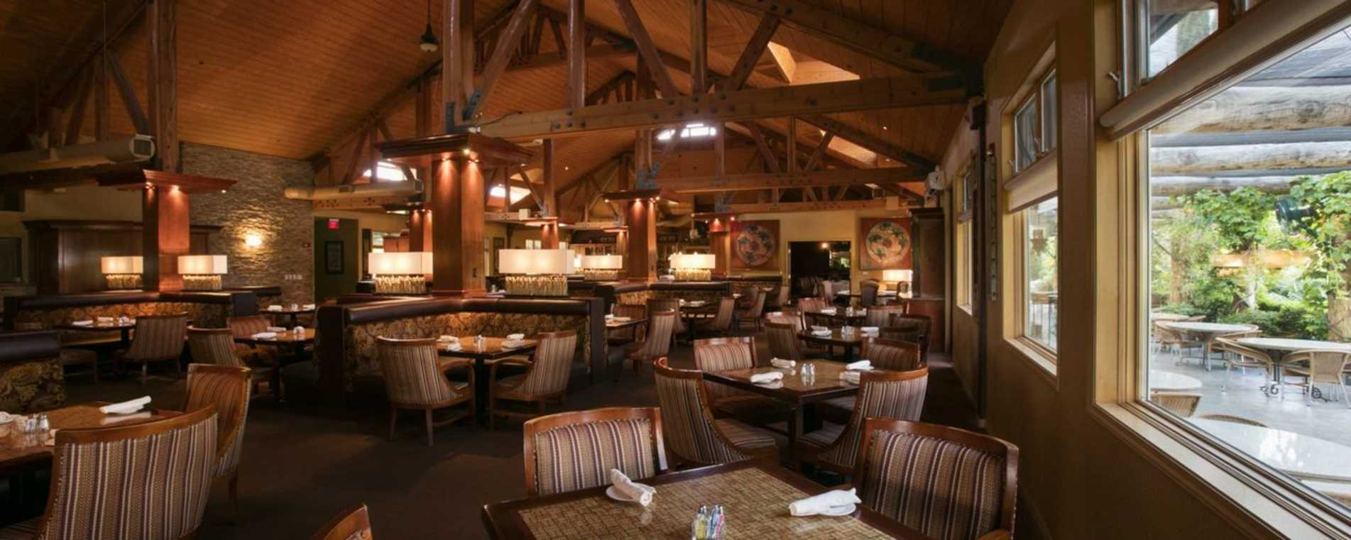 The Vineyard Rose Restaurant - South Coast Winery Resort & Spa