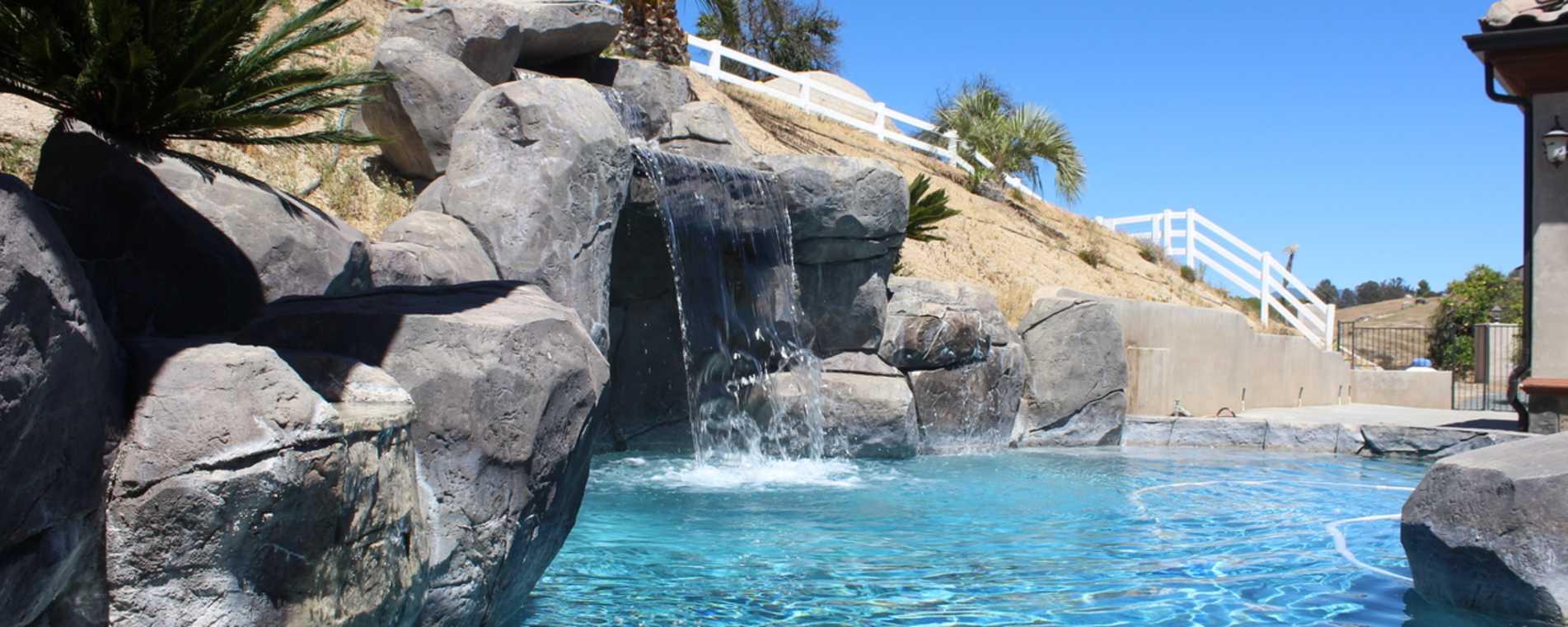 Waterfall - Mediterranean Estate