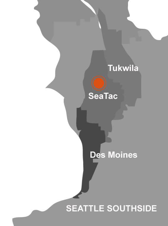 SeaTac Map