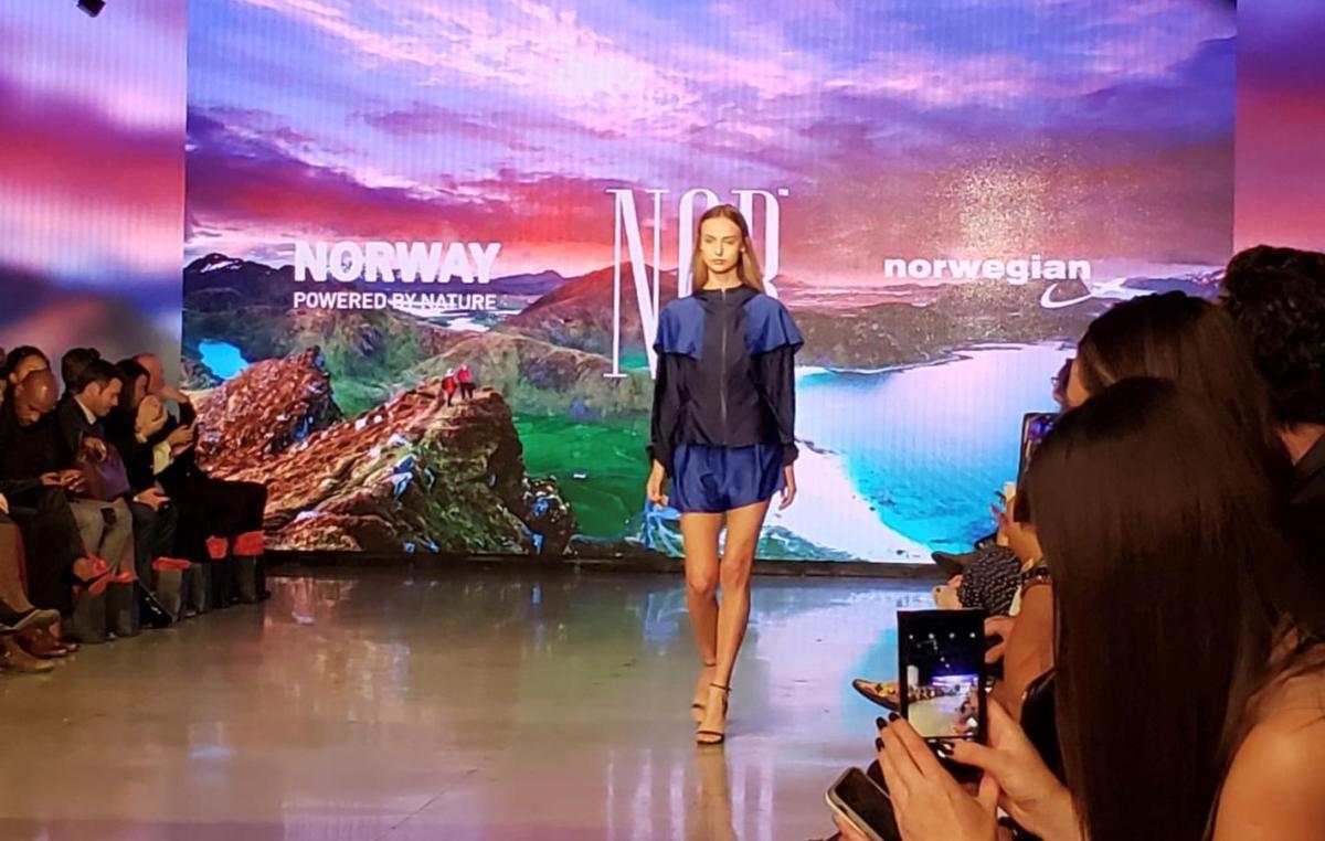 NOR runway. Design by Veronica B. Vallenes .Foto: Innovasjon Norge