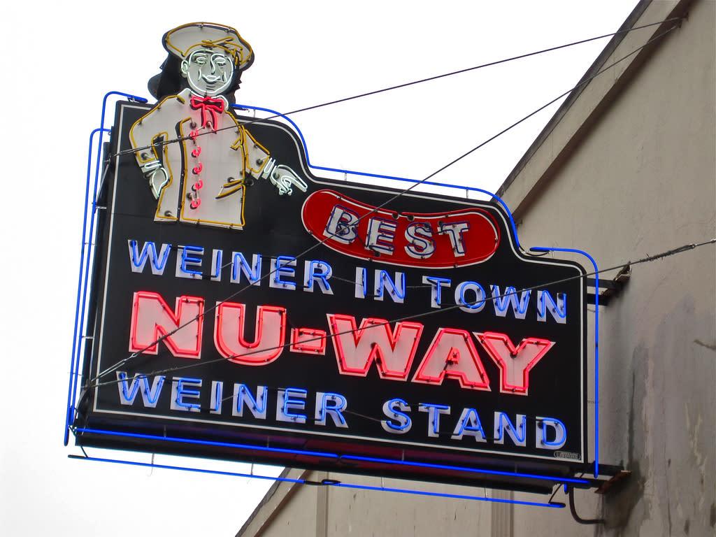 Nu-Way Sign