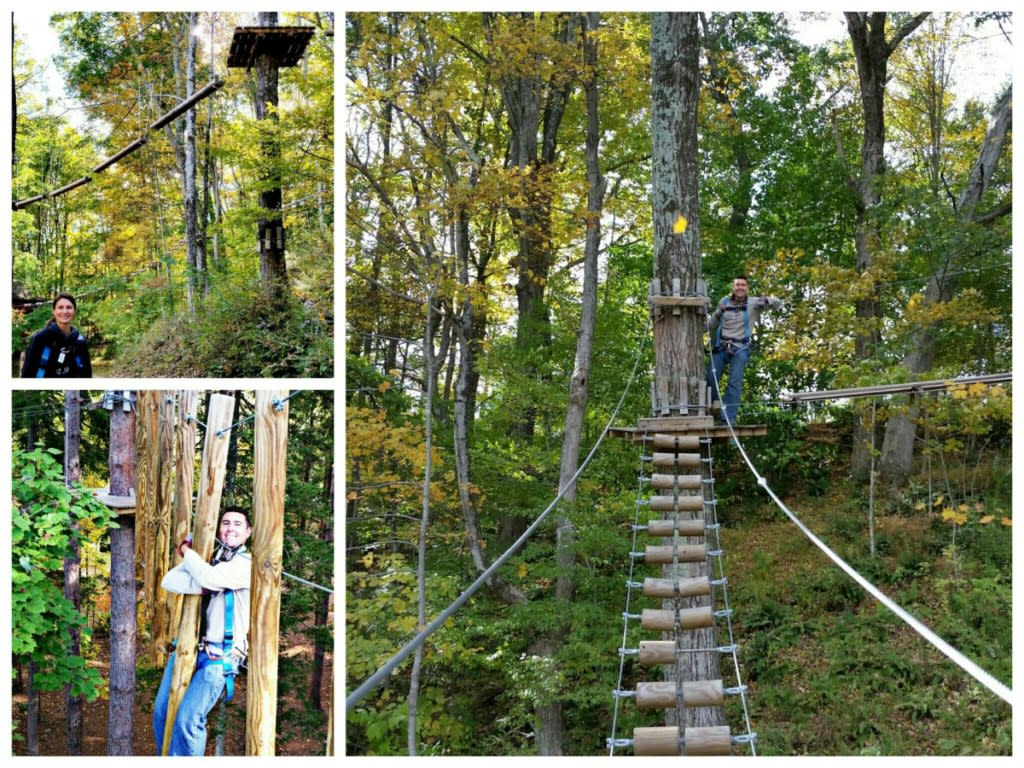 Pocono TreeVentures at Fernwood Resort