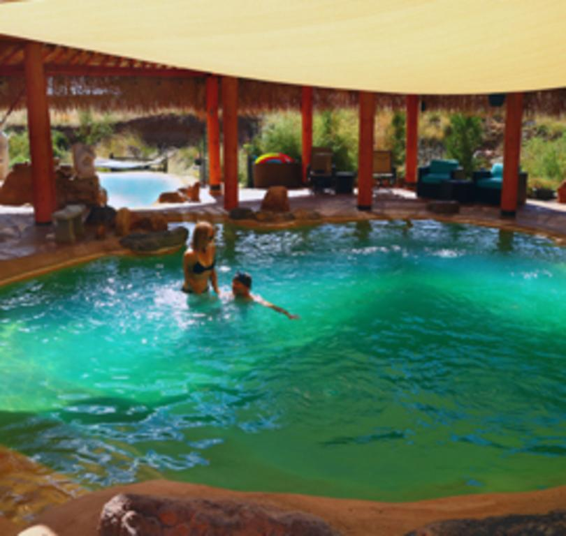 Jemez Hot Springs - Home of the Giggling Springs