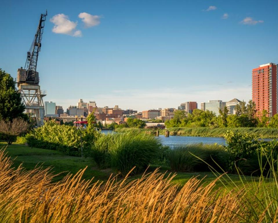 Riverfront Wilmington Delaware