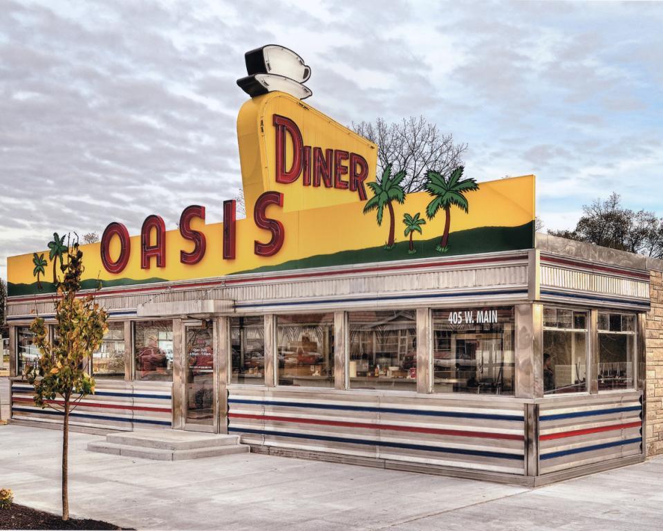 Oasis Diner Facade