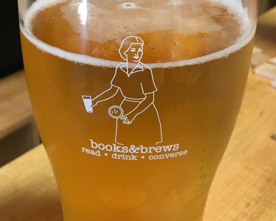Books & Brews beer