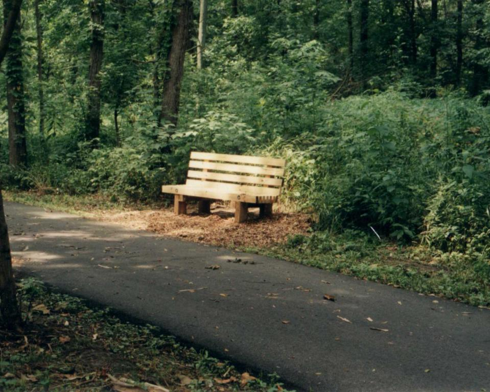 Trail Bench, Arbuckle