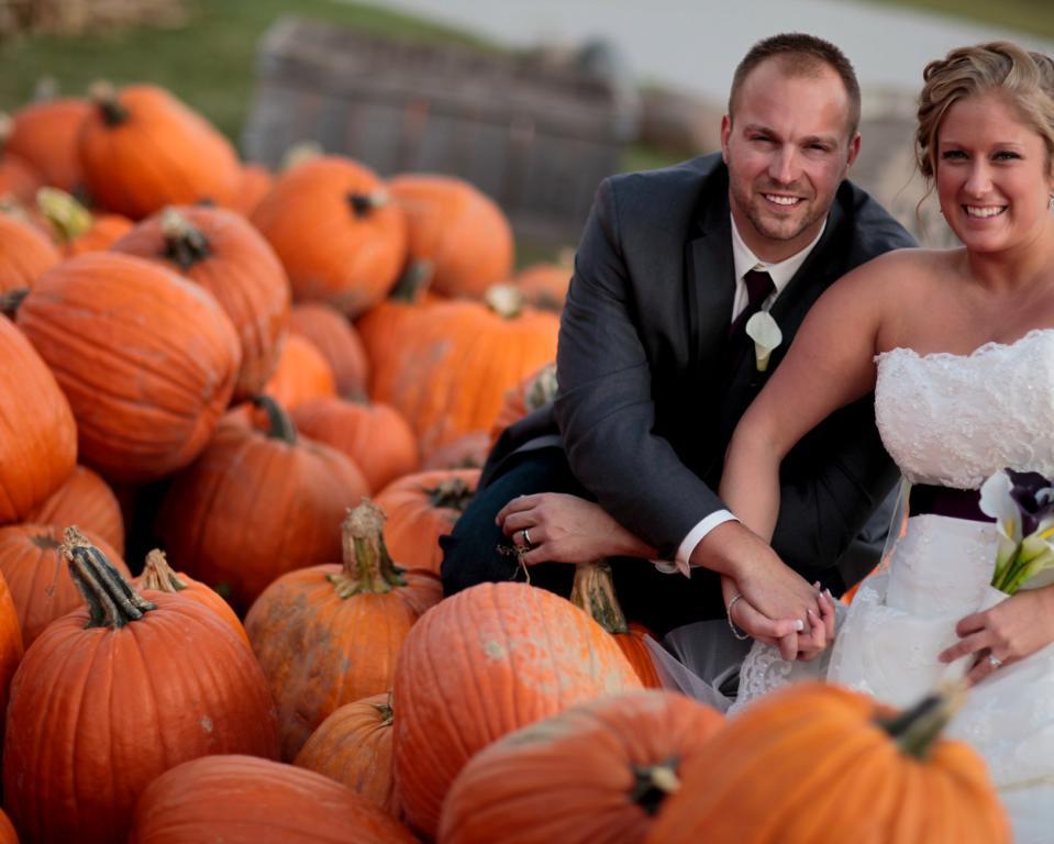 Couple pumpkins