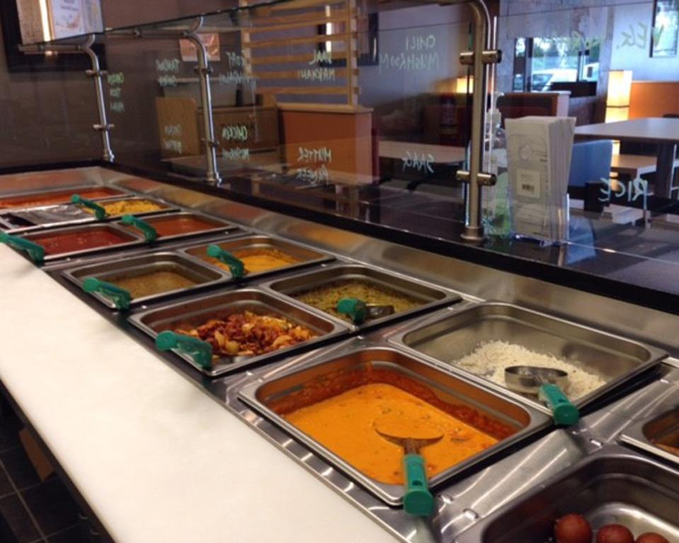 India Bistro food
