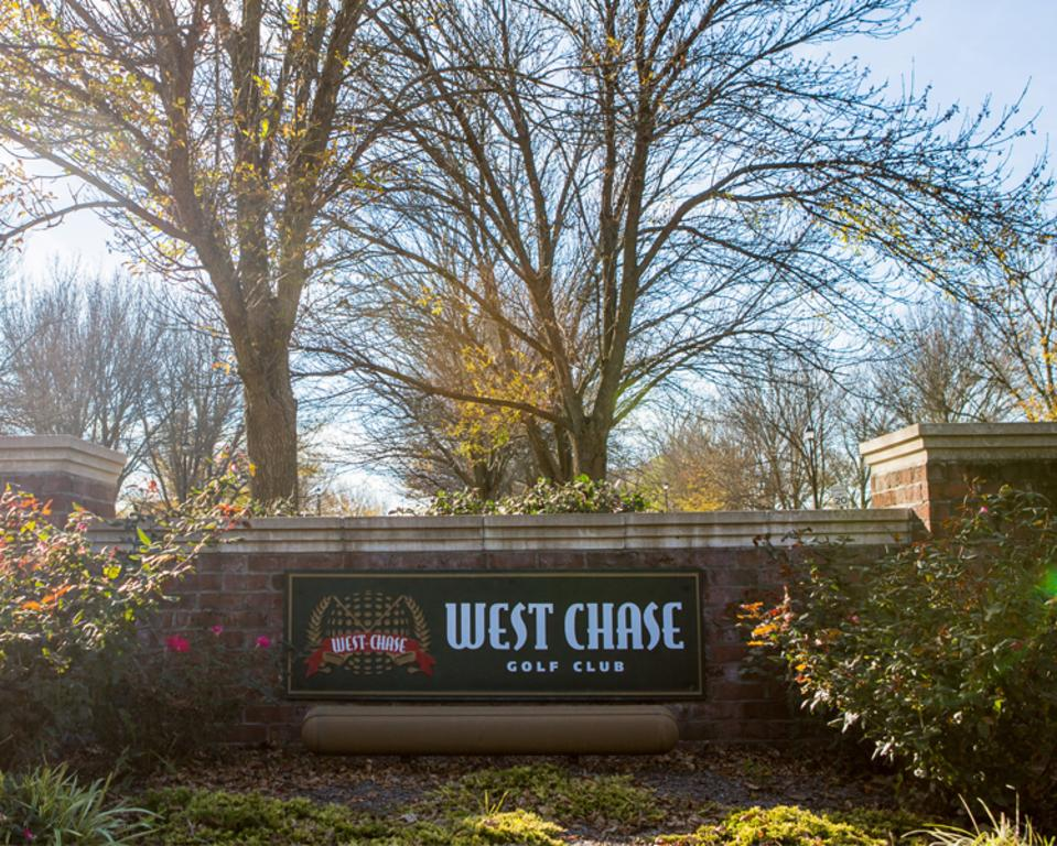 West Chase sign
