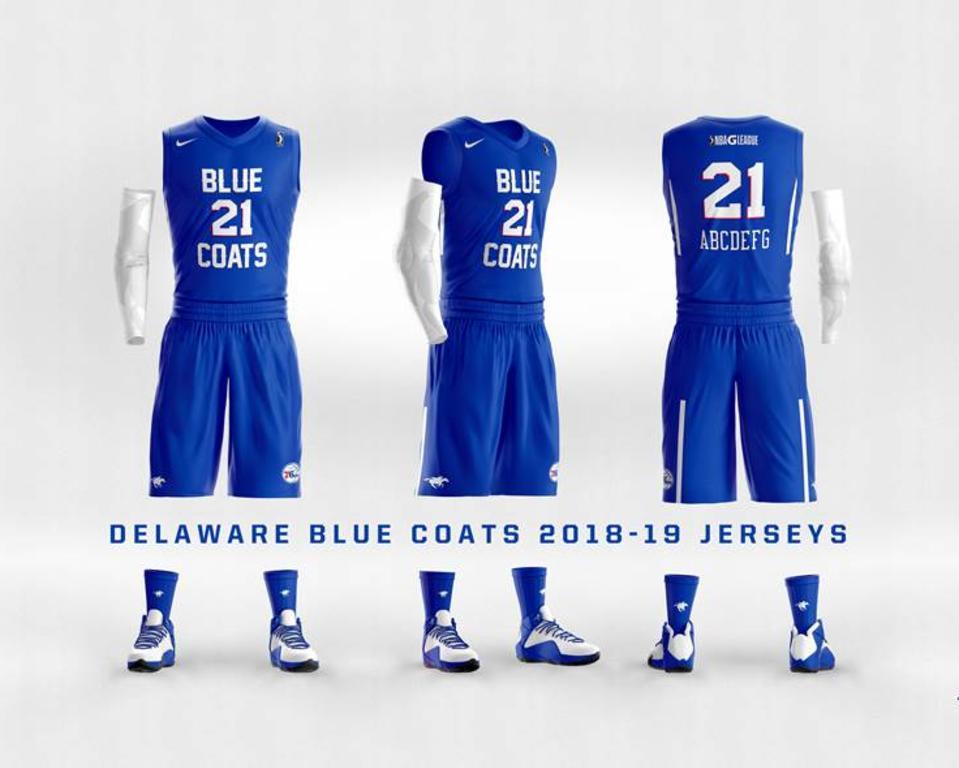 Delaware Blue Coats - Blue Uniforms