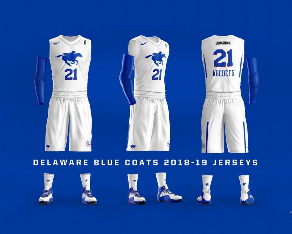 Delaware Blue Coats - Home Uniforms
