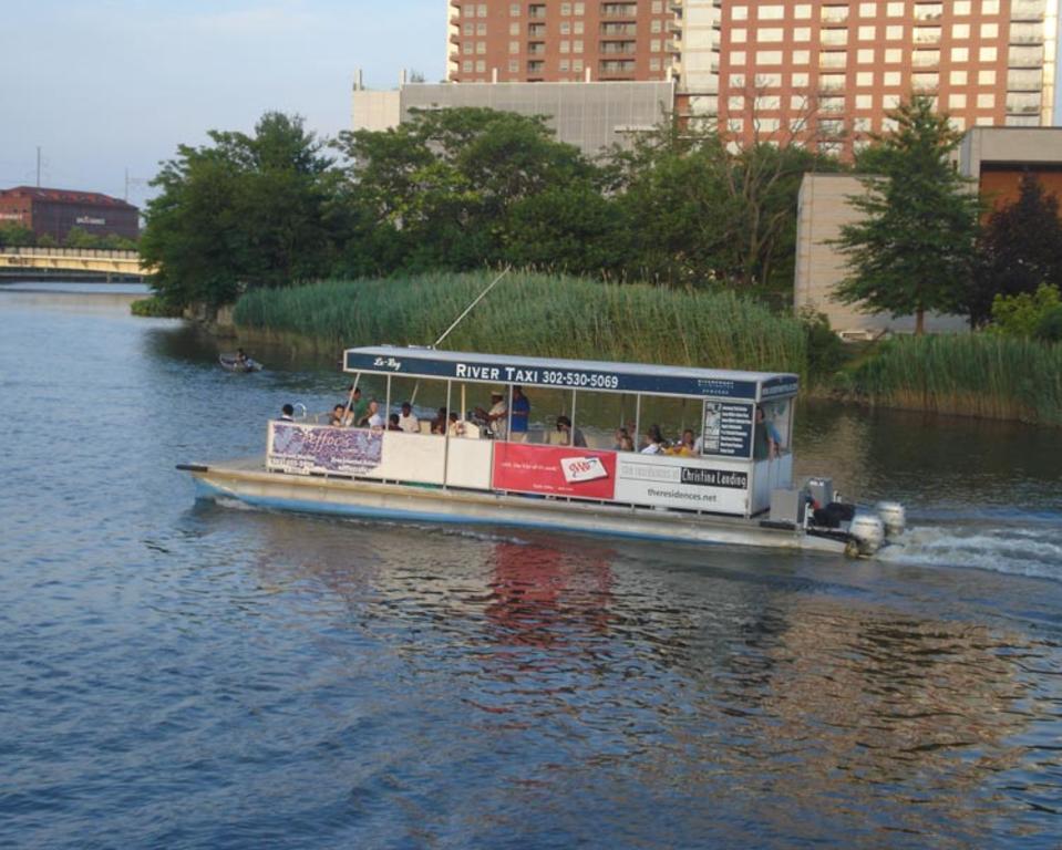 Riverfront Wilmington River Taxi, Delaware