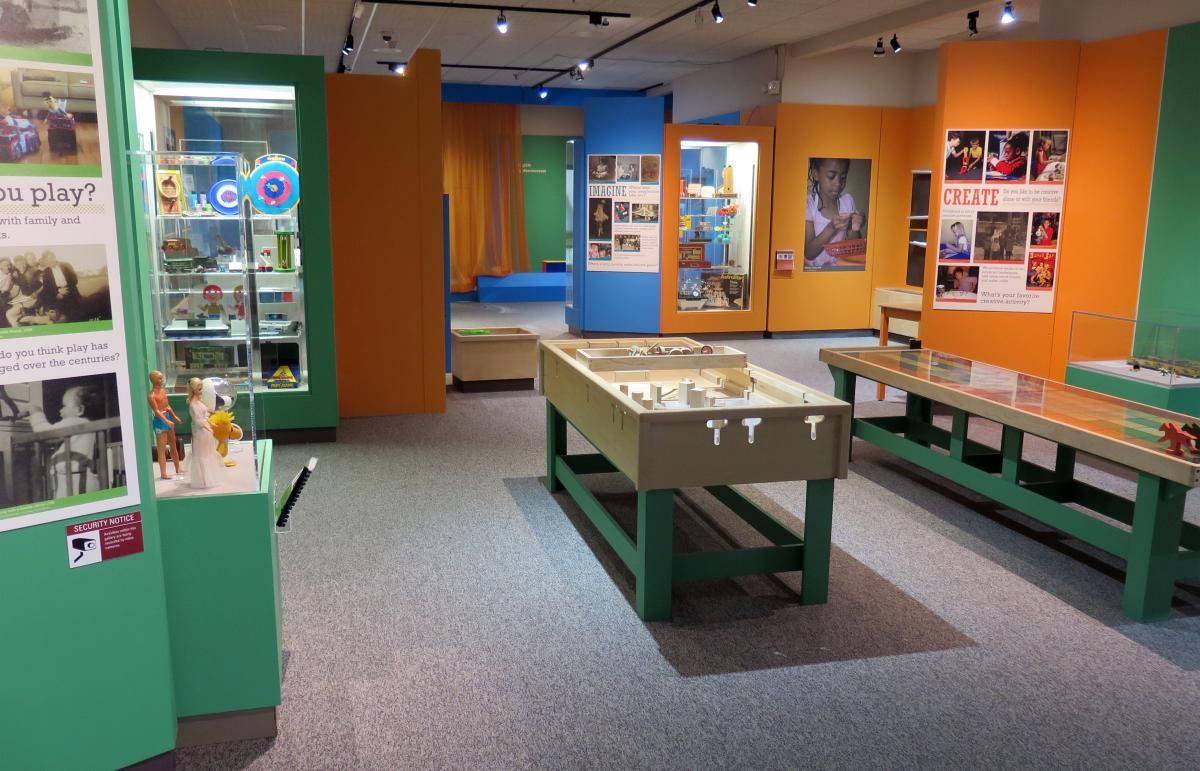 Play Time exhibit at Cape Fear Museum of History and Science