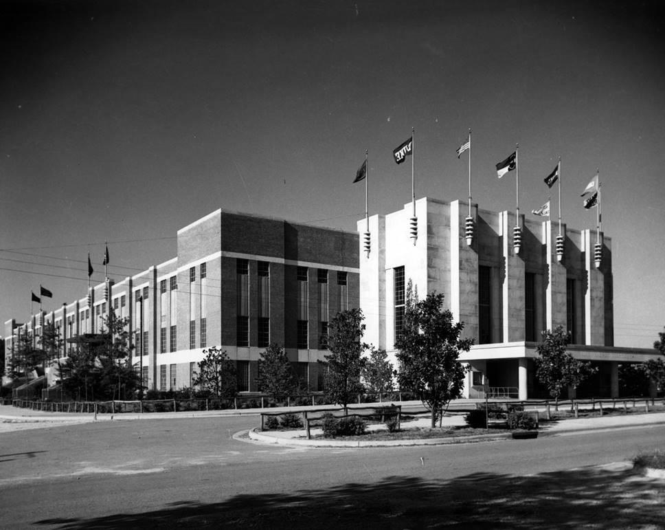 Reynolds Coliseum Exterior
