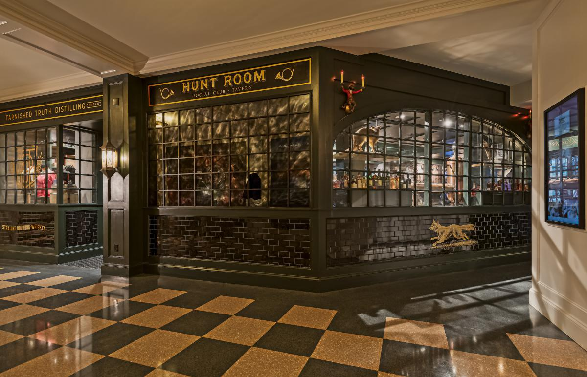 The Hunt Room and Tarnished Truth Distillery
