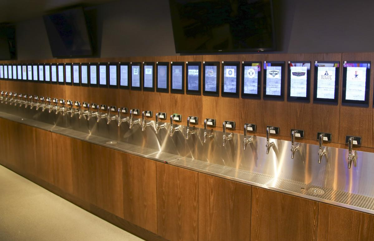 The Bank Beer Taps