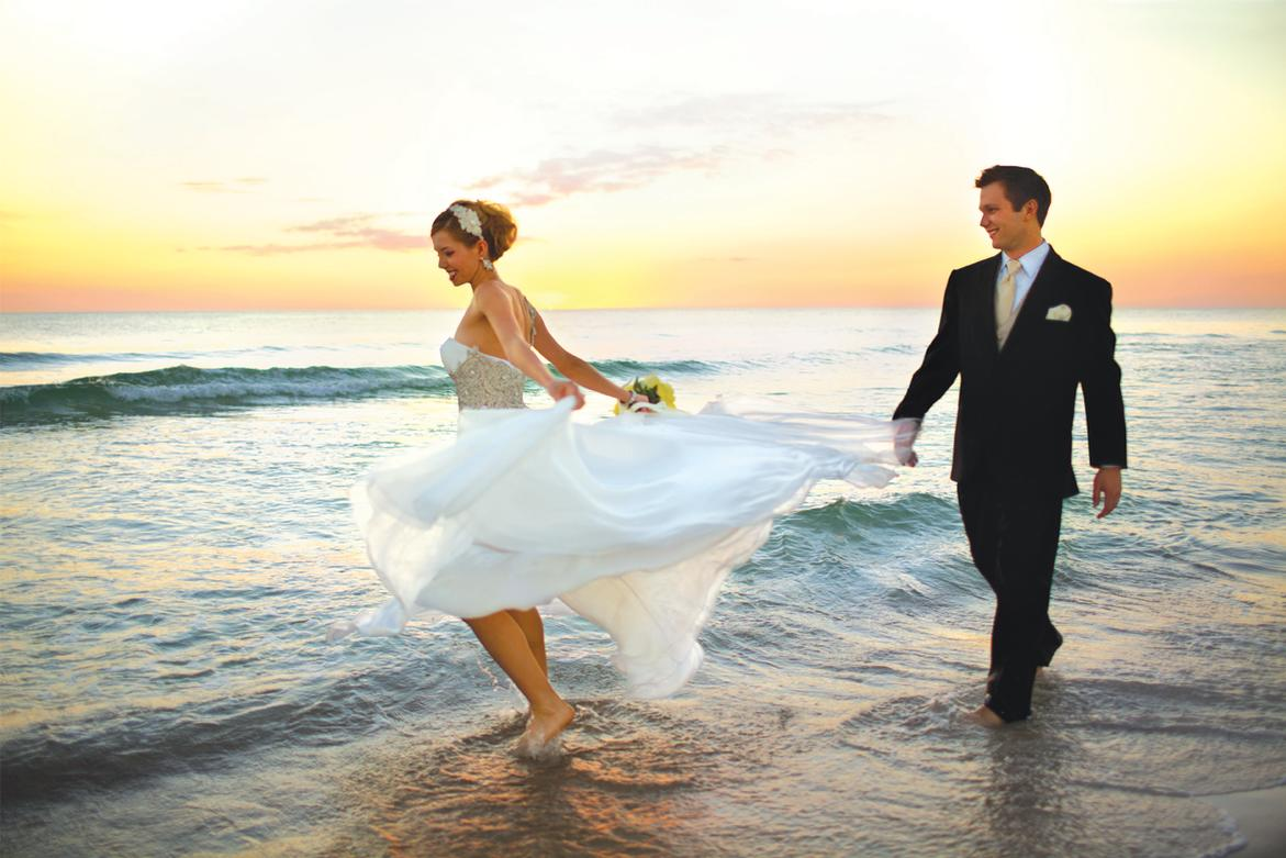 Beach Wedding Destination Panama City Florida