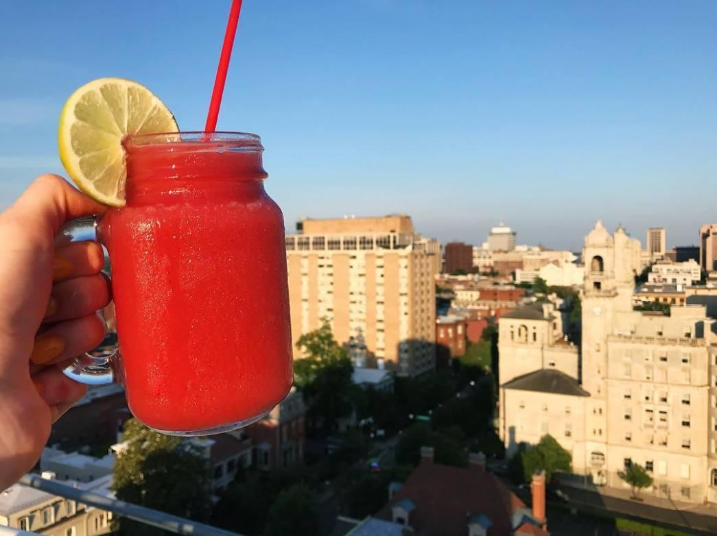 Graduate Richmond rooftop cocktail