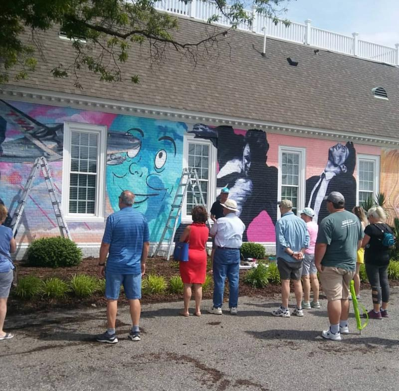 ViBe Creative District Mural Tour