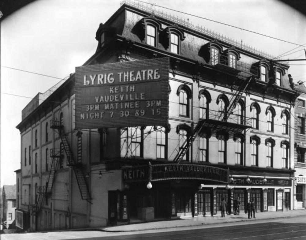 Lyric Theatre circa 1920