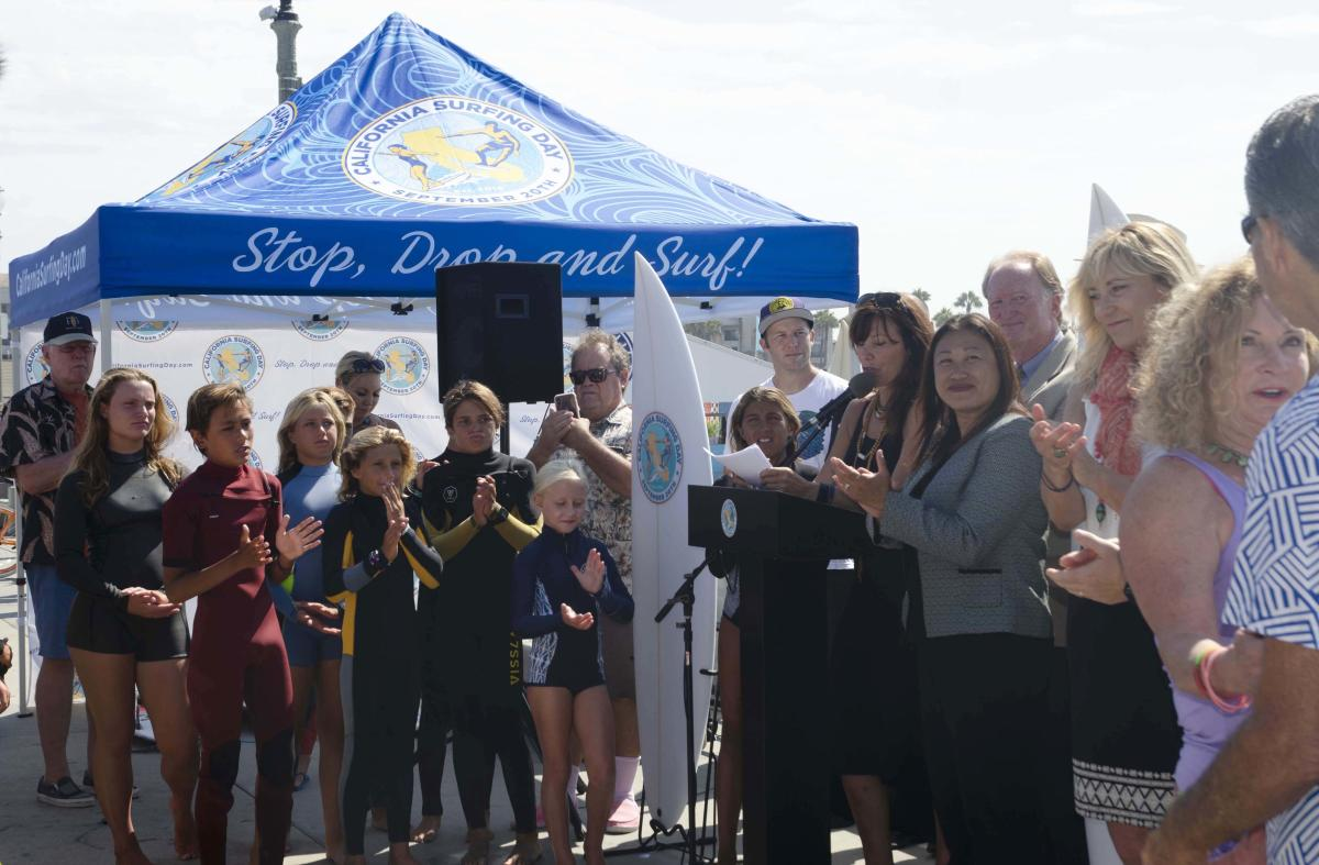 CA Surfing Day Announcement