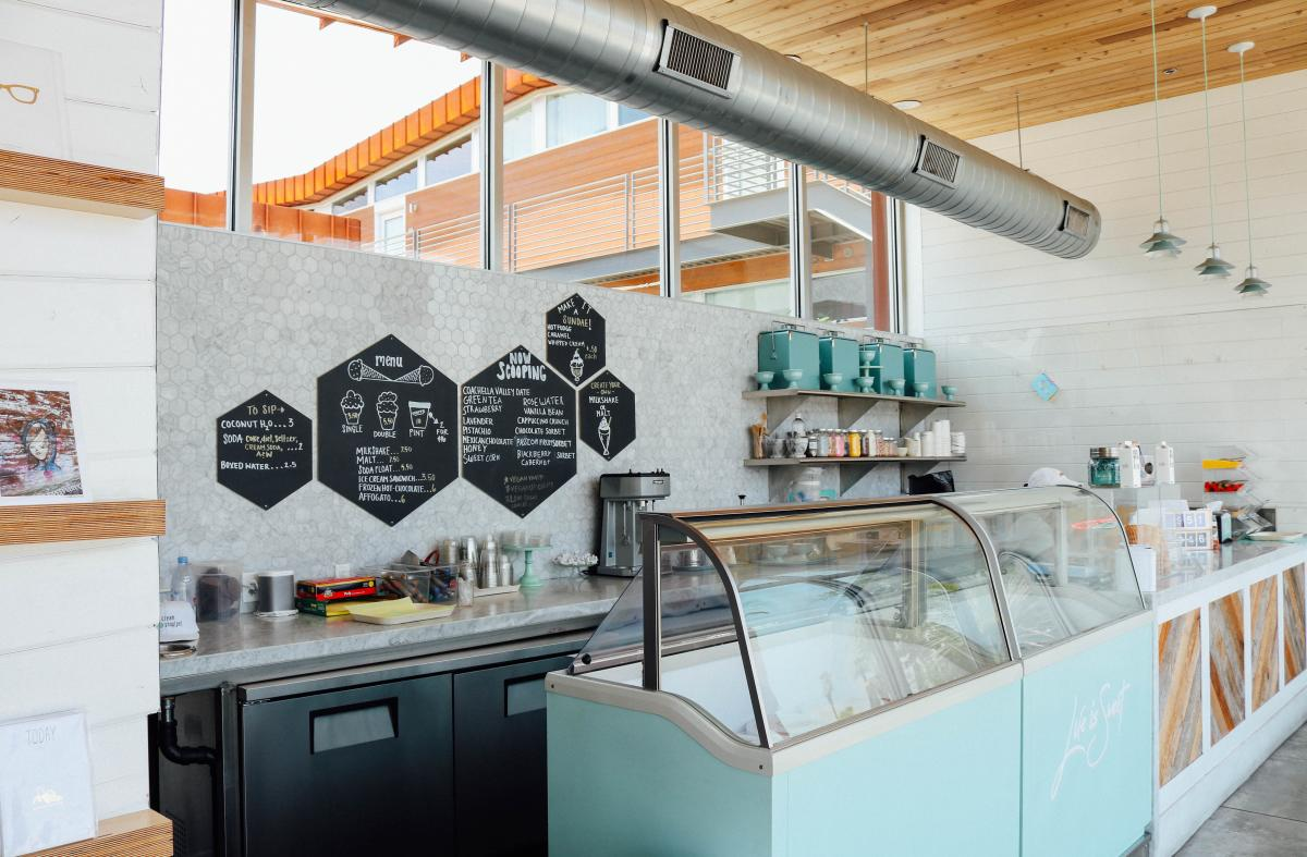 Ice Cream & Shoppe at Arrive Hotel