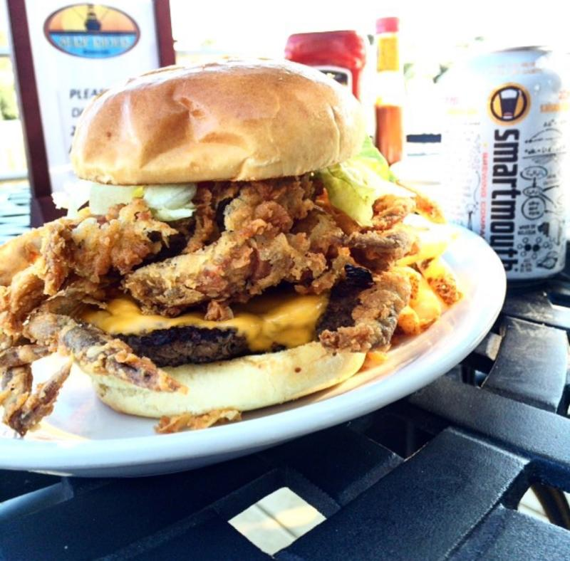 Surf Rider Soft Shell Crab Burger