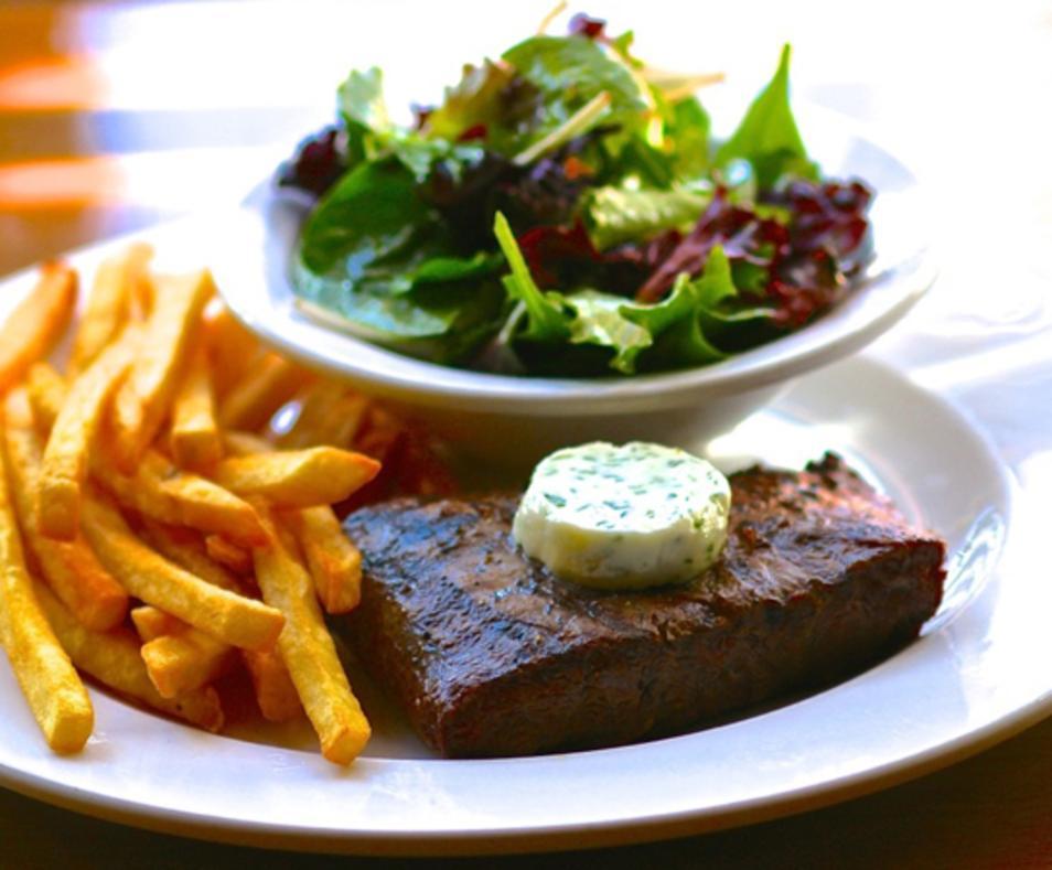 Steak Frite Salad